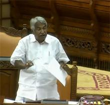 Chief Minister Oommen Chandy replying to debate on supplementary demands for grants on Tuesday