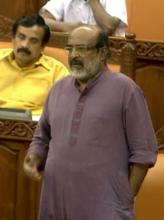 Finance Minister Thomas Isaac replying to debate on supplementary demands for grants on Oct. 31