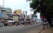 MG Road in front of Secretariat on a harthal day (file photo)