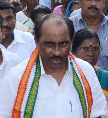 Minister for Excise K. Babu