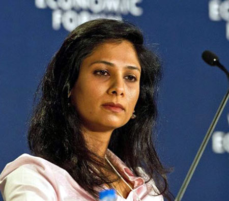 Professor of International Studies and of Economics at Harvard University Gita Gopinath