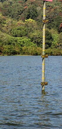 Mullaperiyar reservoir- water level guage