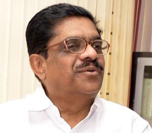 KPCC president V. M. Sudheeran