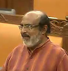 Finance Minister Thomas Isaac (file photo)