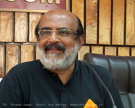 Kerala Finance Minister Thomas Isaac